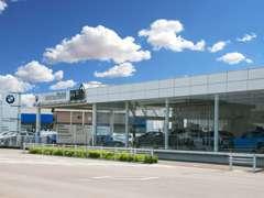 名鉄BMWプレミアムセレクション小牧では常時200台展示
