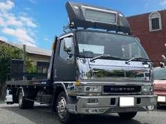●もしもの時、万が一の時の為、積載車(車輌運搬車)をご用意致しております。又、県外納車も大歓迎です。