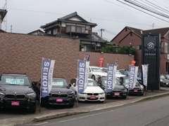 BMW正規ディーラー中古車専門店!展示台数県下No.1!在庫にないもの・ご希望のお車お探し致します!
