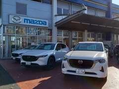 トヨナガはマツダとスズキの正規ディーラーです!関東運輸局指定の工場ですので車検も安心です!