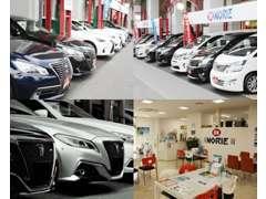 軽自動車・コンパクト・ミニバン・セダン・スポーツ・SUVなど約100車種が展示しております!