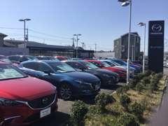 デミオ・CX-3・CX-5・アテンザと、新世代商品が勢揃い!