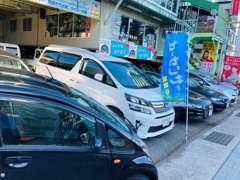 カ-コンビニ倶楽部もやってます。民間車検整備工場もあります。