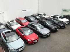 高年式・低走行車両を中心に展示致しております。