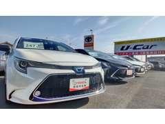 中古車だけでなく新車も展示販売しております(*^_^*)