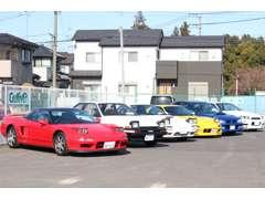 NSX、GT-R、スープラ、RX-7など国産スポーツカーを揃えています。貴方のこだわりの一台をGT-Garage@Gulliverでお探し下さい。
