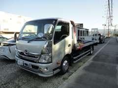 積載車完備ですので、あらゆるトラブルにも対応致します。お気軽にお問い合わせください。