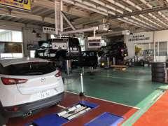 ☆創業45年の実績。自社陸運局指定民間車検工場完備でアフターサービスも安心です。