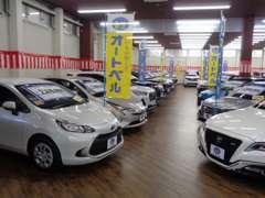 普通車の登録済未使用車も展示しておりますので、ご家族みなさんでご来店くださいませ。