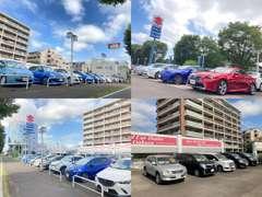 ▲インポートカーコーナーです。ドイツ車をはじめラグジュアリーなラインナップ。保証付き販売ですのでご安心ください。