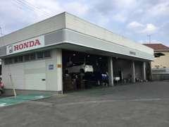 車検・整備まで当店併設のサービス工場でメンテナンスできます