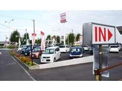 軽自動車やコンパクトカー、ミニバンからSUVまで多種多様取り扱っております。もし当店に在庫が無くてもお探し出来ますよ!
