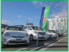 函館市内最大級の大きな展示場と大きな店舗!函館トヨペットを代表するU-Car店舗です!函館新道の蔦屋書店すぐそばです♪