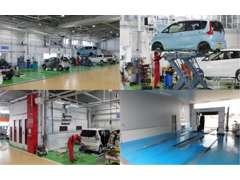 民間車検整備工場完備!国家資格を取得しているスタッフもいます♪アフターフォローも安心です★なんでもお申し付けください!