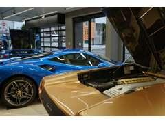 最新のモデル車からビンテージ車まで幅広く扱っております。