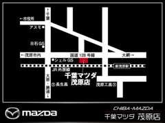 新茂原駅より徒歩8分♪国道128号線沿いのお店です!