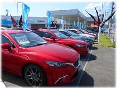 当店では軽自動車・コンパクトカーからスポーツカー・ミニバンまで幅広いラインナップでお車選びのお手伝いをいたします!!