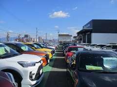 新車・登録済未使用車・特選中古車が常時350台勢揃いしております。プロの目で300項目以上の品質チェックを実施します。