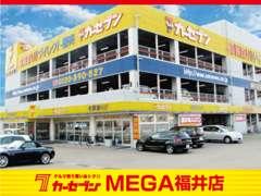 当社自慢の大型屋内展示場には、軽自動車から輸入車まで、常時200台を展示しています。