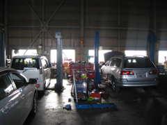 認証工場取得済みで、安心の整備が出来ます。