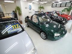 在庫車の半分がオープンカーです。楽しめるお車をご案内中です!