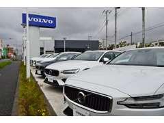 VOLVO正規ディーラーの当店は、「ワンオーナー車、元試乗車、デモカー」等の高品質車のみを展示しております。