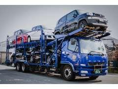 大手の陸送会社と提携していますので全国納車もお任せください!手続きもカンタンです!8割のお客様が県外からのご購入です!