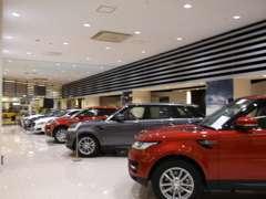 ジャガー・ランドローバー認定中古車センターとして愛知県東エリアを主に担当しております。