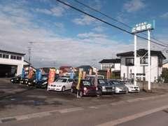 当社は広田小学校、正門向かいにございます。スタッフ一同、お客様のご来店、心よりお待ち申し上げております。