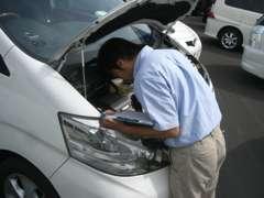 全車両入庫チェック済み。修復歴の有無、走行メーターにも保証をお付けしております
