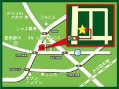 お車では、金沢西I.Cから約10分!こちらの地図を参考にご来店ください!JRをお使いの場合は西金沢駅よりお迎えにあがります♪