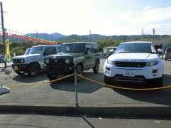 ☆展示スペース☆在庫車は日々入れ替わります!お客様に満足して頂けるお車探しをお手伝いいたします!お気軽にお問合せ下さい♪