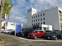 2018年7月27日にOPENしたVOLVO SELECT金沢。石川県唯一の認定中古車センターです。