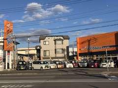 当社はダイハツ優良店ならではのダイハツ車はもちろん幅広い車両を販売を致しております。