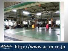 納車前整備や急なトラブルにも対応するため提携の整備工場もございます。