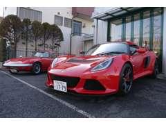 最新モデルから旧車まで、様々なロータスを取り扱っております。