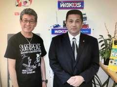 代表の西崎です。仕入、販売、整備までトータルでサポート。布川敏和さんも来店されました。 ★ヤトミ:0066-9711-967075★