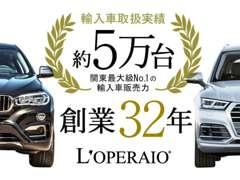 創業28年輸入車取扱実績3万台の確かな実績でお客様のカーライフをサポートします!